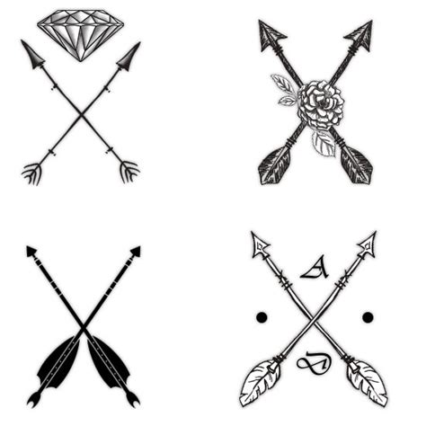 attractive arrow tattoo designs and their symbolism