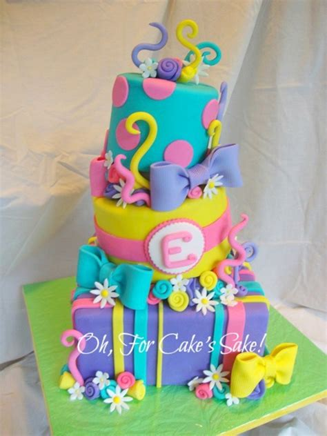 colorful birthday cakes bright colorful birthday cake cakecentral