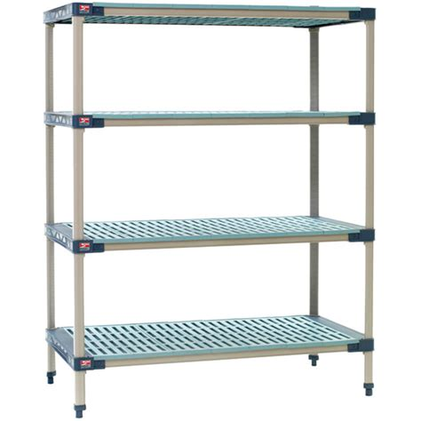 metro x336g4 metromax 4 grid 4 shelf stationary shelving