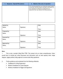 lift study template workplace safety and health resources workplace safety and
