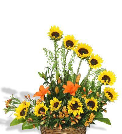 girasoles moldes de flores para hacer arreglos florales en arreglo floral de girasoles sol f 0028 arreglos florales