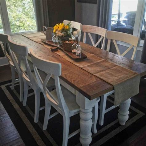 dining room farm tables best 25 farmhouse table ideas on pinterest diy