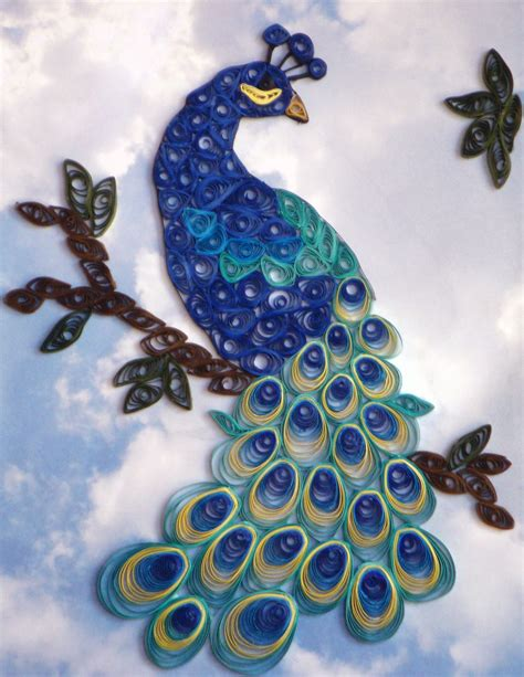 quilling designs peacock quilling patterns peacock quilling designs