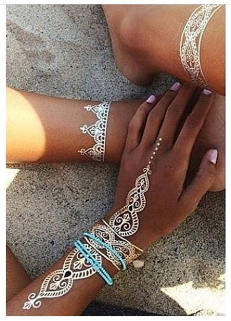 tattoo henna white henna tattoo designs tattoos beautiful