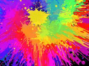 color splatter ink vector