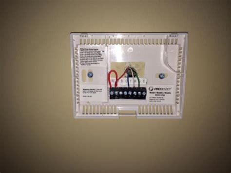 honeywell thermostat fan won t turn off installing honeywell wifi thermostat doityourself com