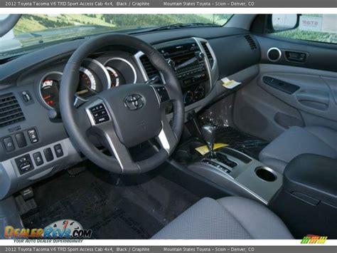 2012 Toyota Tacoma Interior by Graphite Interior 2012 Toyota Tacoma V6 Trd Sport Access
