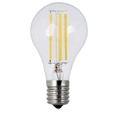 Led Clear Light Bulbs Feit Electric 60w Equivalent Soft White A15 Dimmable Clear Filament Led Intermediate Base Light