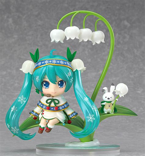 Nendoroid 493 Hatsune Miku Snow Bell Ver Nendo Vocaloid Figure Kws gsc 2015年 雪初音 黏土人 snow bell ver 預定2月官網開放預購