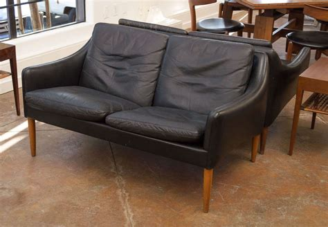 2 seater leather sofas for sale hans leather two seater sofa for sale at 1stdibs
