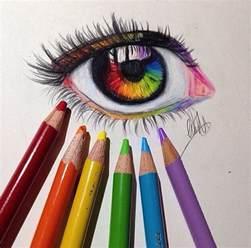 cool colorful drawings rainbow eye drawing naladraws