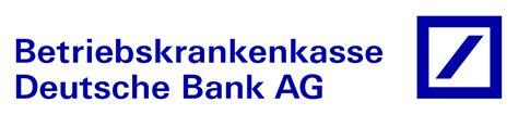 Datei Bkk Deutsche Bank Logo Svg
