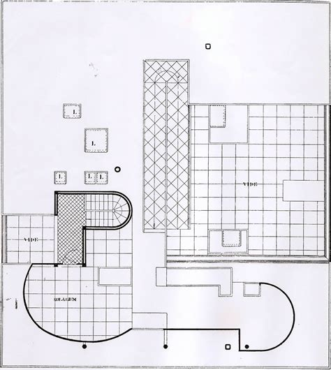 villa savoye floor plans linh nguyen arch1201 villa savoye plans