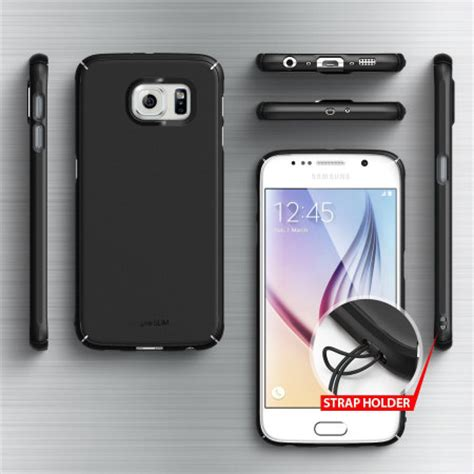 Ringke Slim Cover Casing Samsung Galaxy S8 rearth ringke slim samsung galaxy s6 black