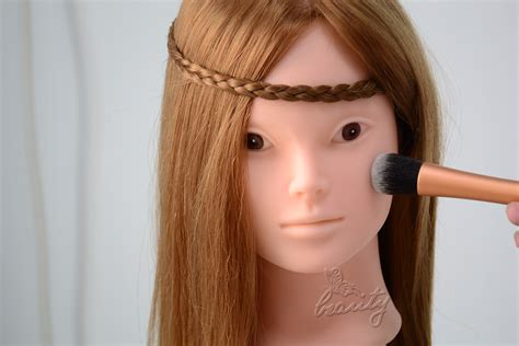 hair and makeup mannequin head new makeup practice head hairdressing training mannequin