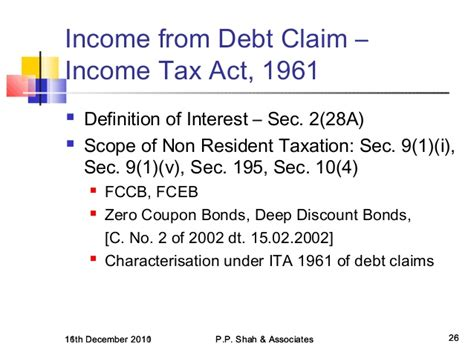 section 10 26 of income tax act icai goa branch presentation on hybrid financial
