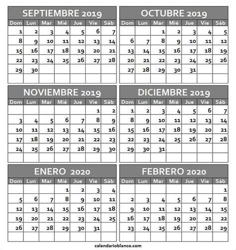 calendario septiembre   febrero   imprimir calendario septiembre calendario