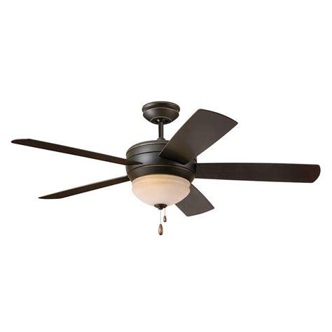 zephyr ceiling fan illumine zephyr 52 in indoor outdoor golden espresso