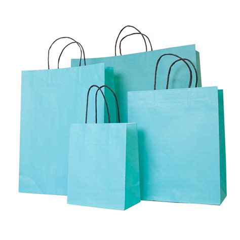 Carrier Bags by Turquoise Paper Carrier Bag Barry Packaging