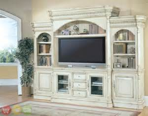 Wall Units And Entertainment Centers Details About Westminster Large White Ornate Tv