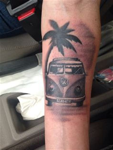 volkswagen bus tattoo 1000 images about vw and volvo tattoos on pinterest car
