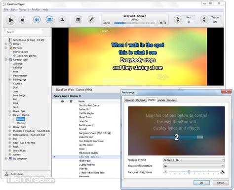 karaoke software free download full version for windows 7 offline karafun player 2 5 2 download for windows screenshots