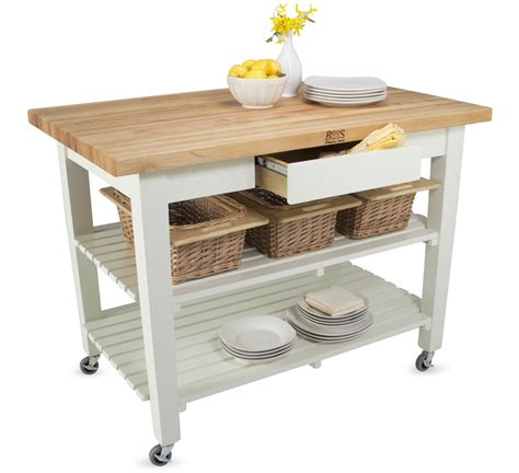 folding kitchen island work table boos classic country work table island table
