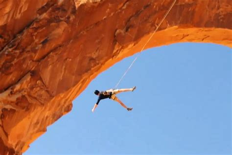 highest rope swing world s largest rope swing at arches national park