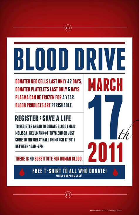 poster design blood donation student blood drive posters by kathryn olen at coroflot com