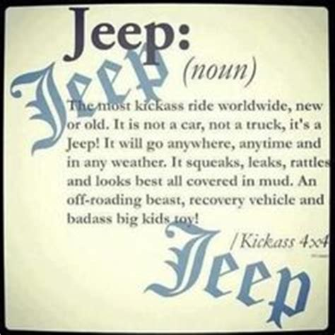 What Is The Meaning Of Jeep 1000 Images About Jeep On Jeeps Patron