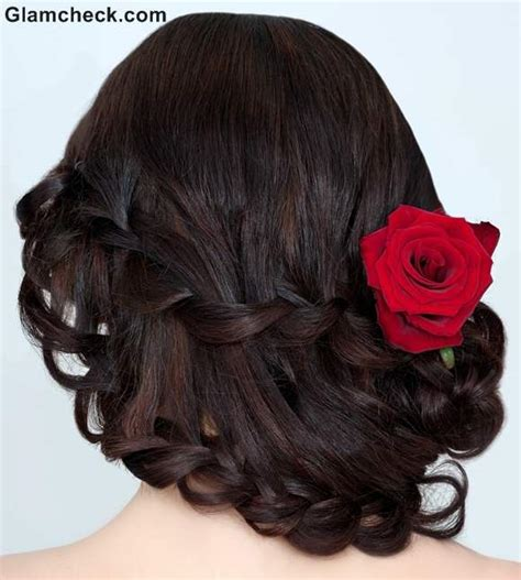 hairstyles indian braid indian hairstyles with flowers