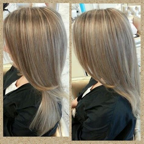 fine blonde highlights beige blonde highlights on fine hair hair pinterest
