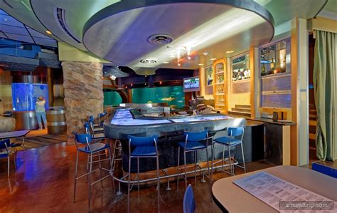 fish tank bar top sharks underwater grill 174 food photos seaworld orlando