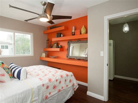 bedrooms with orange walls flipping the block on hgtv hgtv