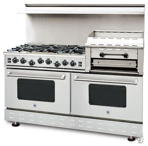 Blue Star Cooktops Blue Star 60 Quot Pro Style Gas Range With 6 Open Burners