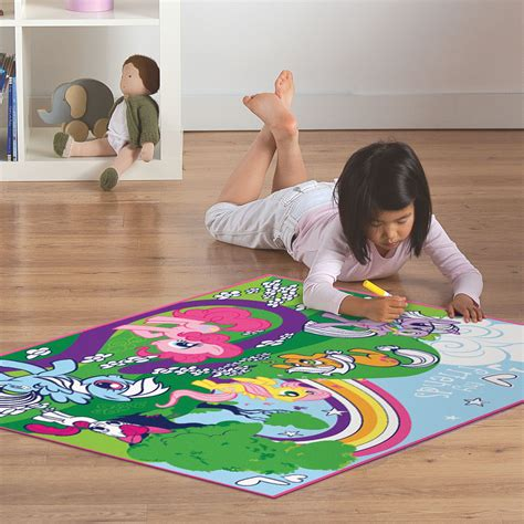 my pony rug essential home s rug rectangle color my pony