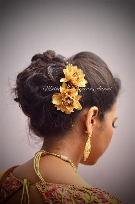 indian hairstyles for dinner indian bride s reception hairstyle by swank studio bridal