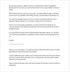 Thank You Letter For Gift Business Business Thank You Letter 10 Free Word Excel Pdf