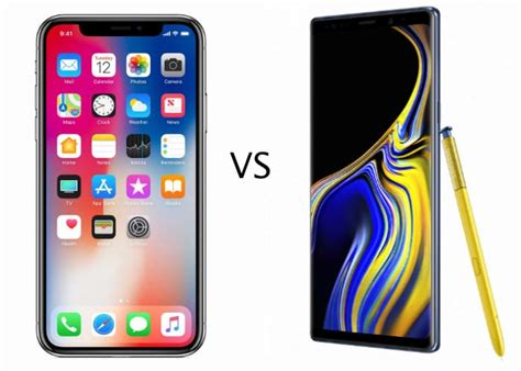 iphone x vs galaxy note 9 benchmarks geeky gadgets