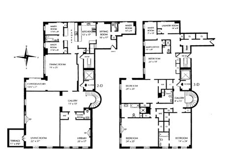 740 park avenue floor plans duplex apartment plans studio design gallery best