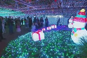 christmas lights display in canberra s cbd sets new