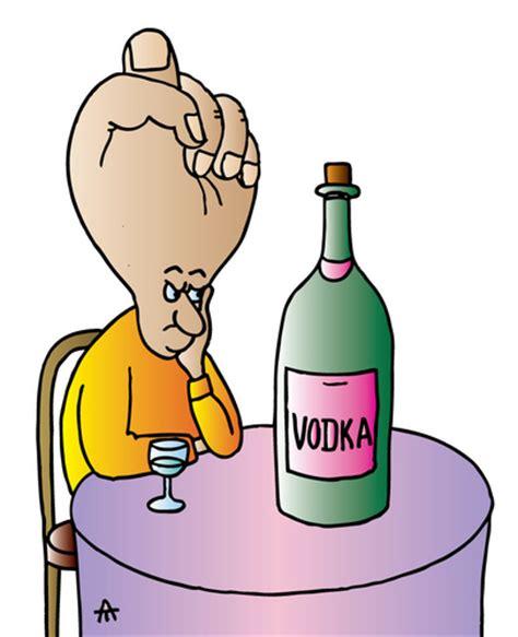 cartoon drinking alcohol vodka by alexei talimonov education tech cartoon