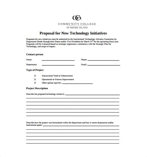technology business plan template sle technology template 7 free documents in pdf