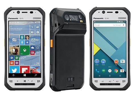 panasonic rugged phone panasonic toughpad fz f1 fz n1 rugged smartphones launched at mwc 2016 technology news