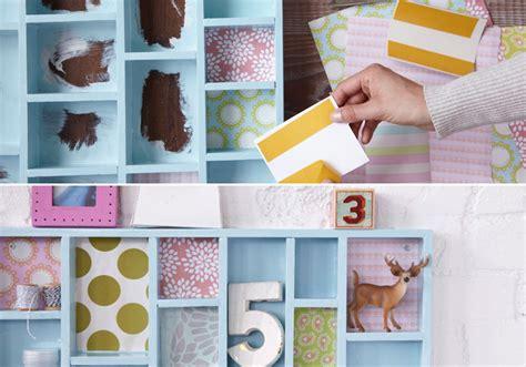 diy wall storage ideas get creative 3 simple shabby chic