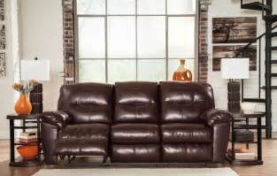 durablend reclining sofa kilzer durablend mahogany reclining sofa from