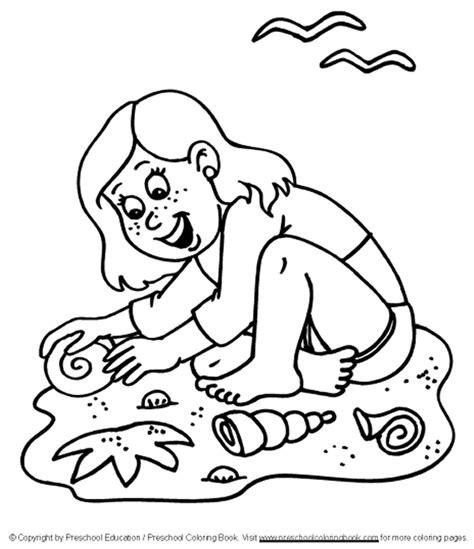 www preschoolcoloringbook com summer coloring page