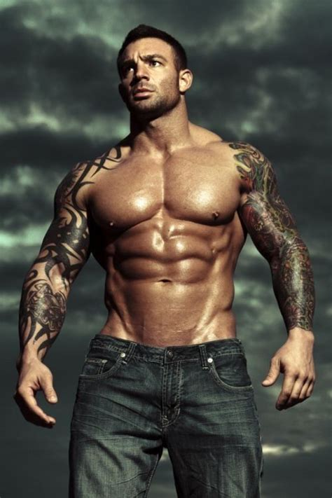 muscle sleeves tattoos body art total hotness