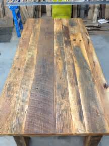 dining room table projects built reclaimed dining room table the reclaimed wood guy blog jimmy hovey