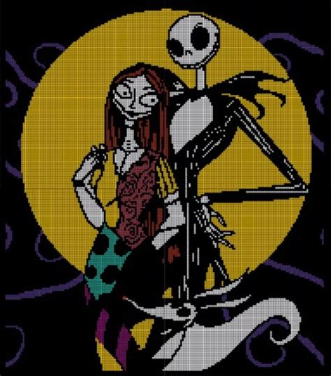 zero nightmare before christmas sewing pattern nightmare before christmas crochet pattern afghan graph